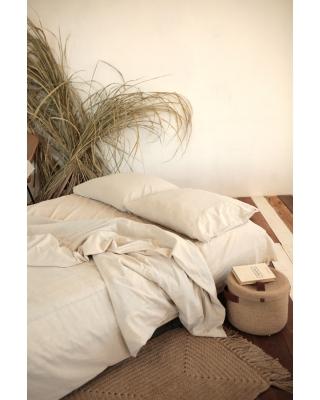 Комплект постельного белья из варёного льна