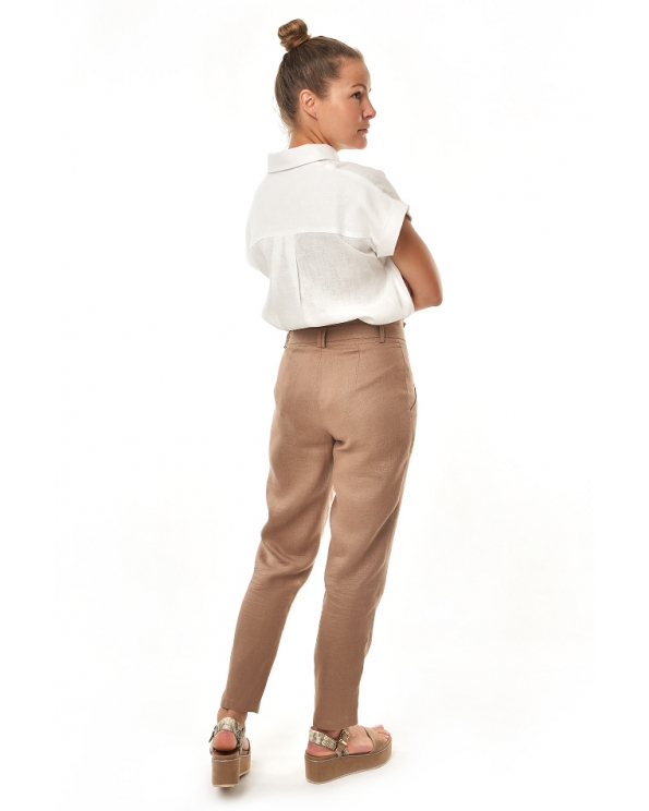 Блузка женская из льна #045
