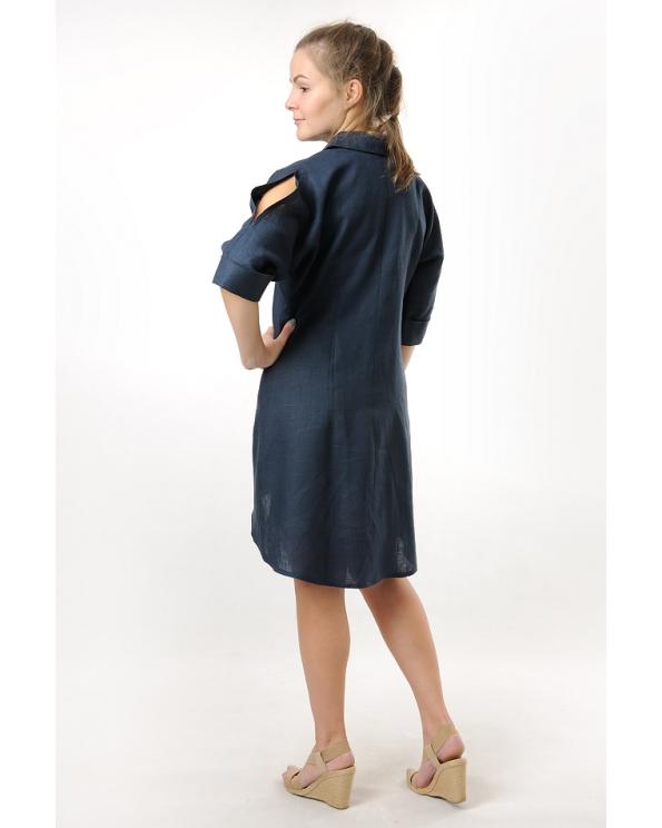 Блузка женская из льна #033