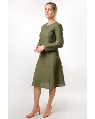 Платье льняное женское #038