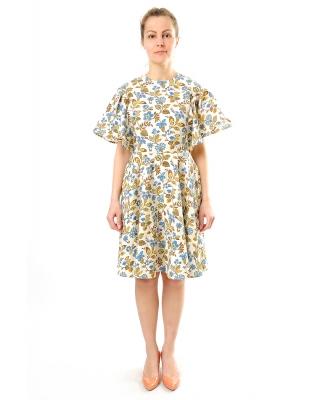 Платье льняное женское #046