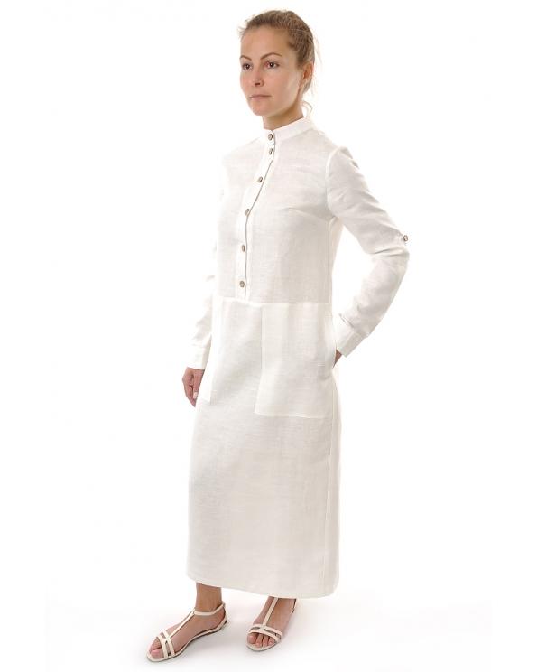 Платье льняное женское #047