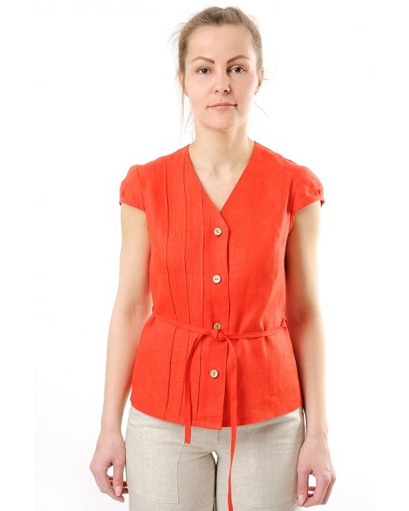Блузка женская из льна #009