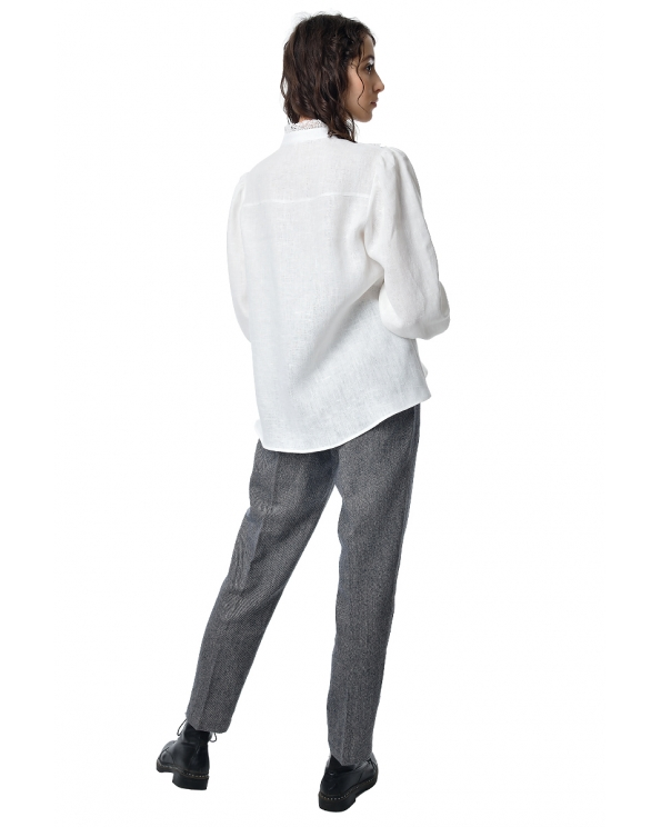 Блузка женская из льна #050