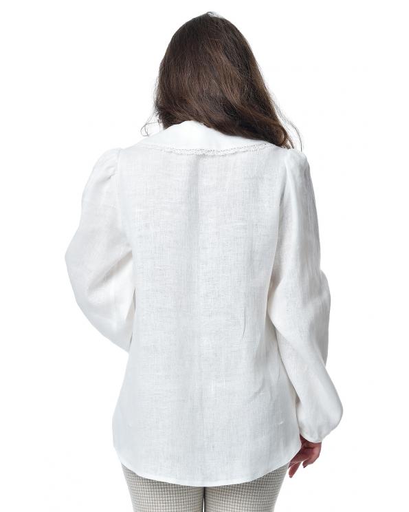 Блузка женская из льна #052