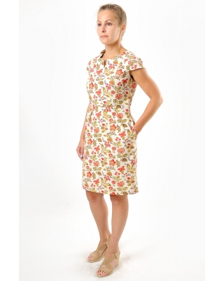 Платье льняное женское #015