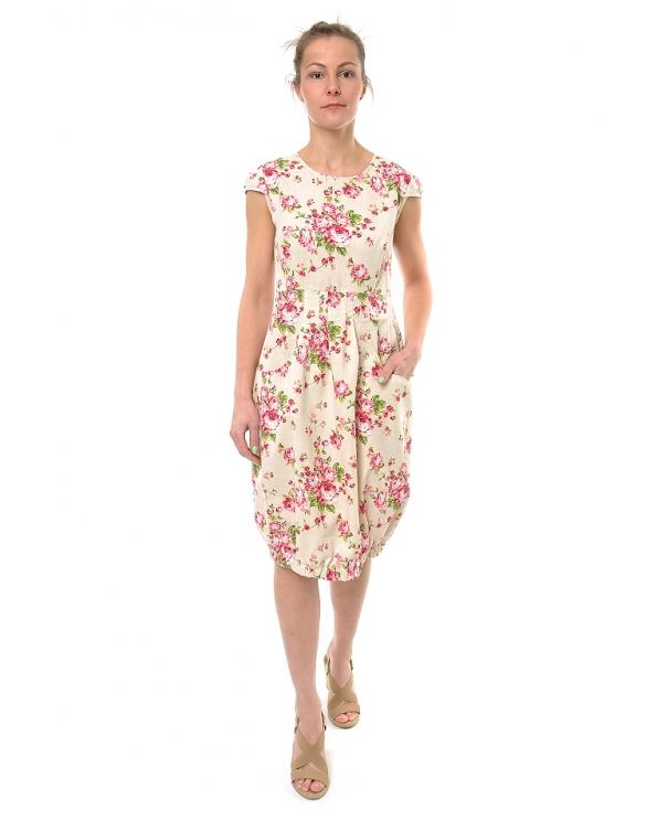 Платье льняное женское #016
