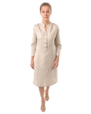 Платье льняное женское #023