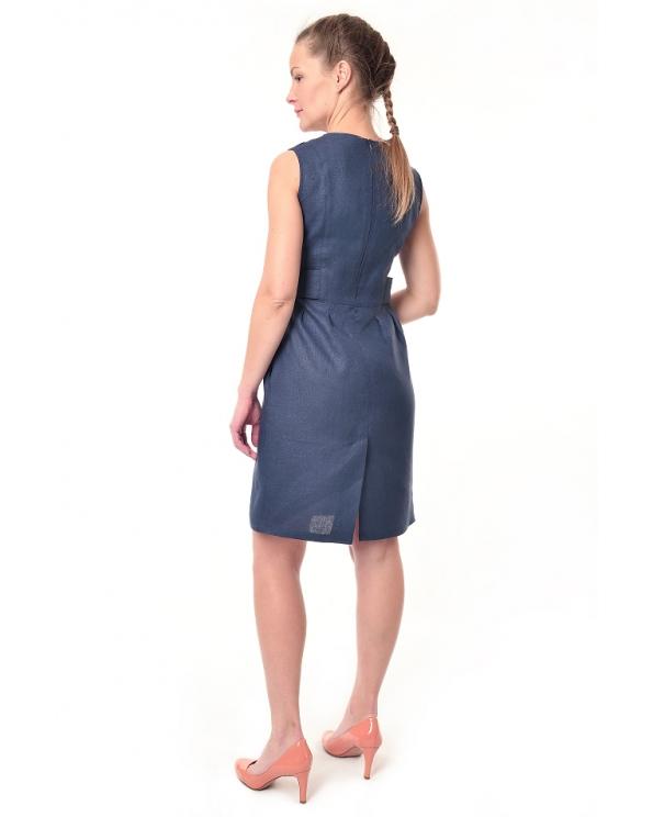 Платье льняное женское #033