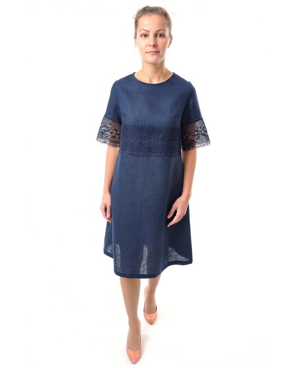 Платье льняное женское #053