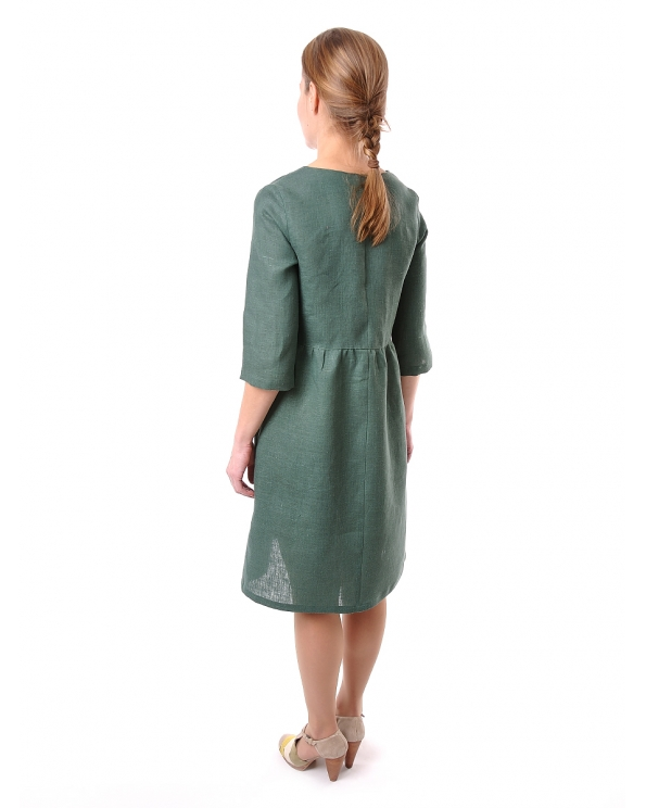 Платье льняное женское #066