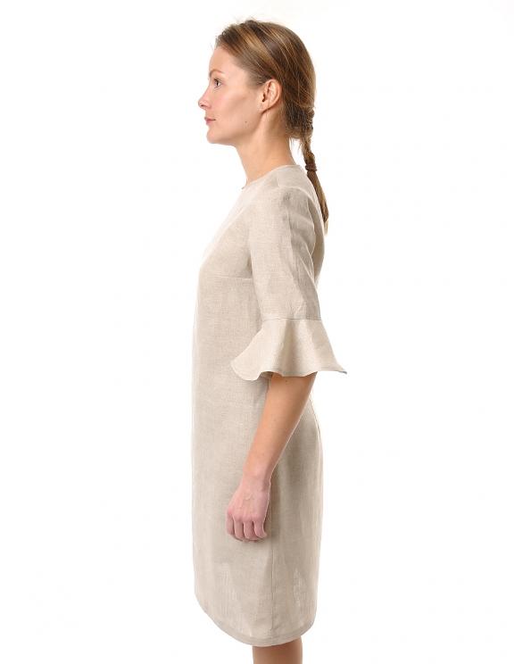 Платье льняное женское #068