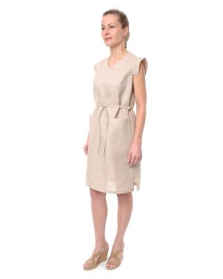 Платье льняное женское #069