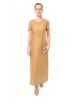 Платье льняное женское #070