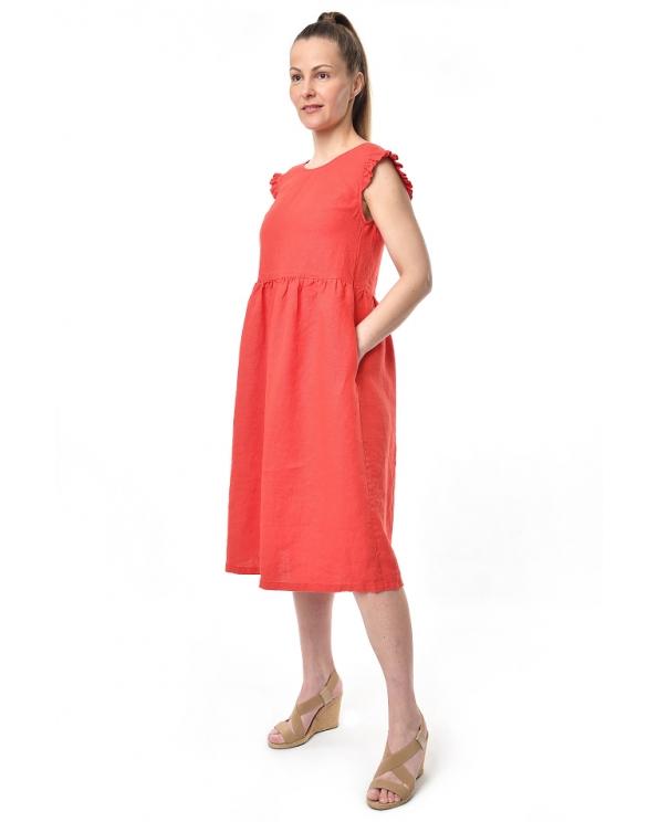 Платье льняное женское #092