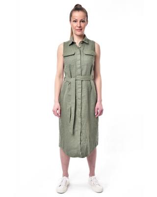 Платье льняное женское #095