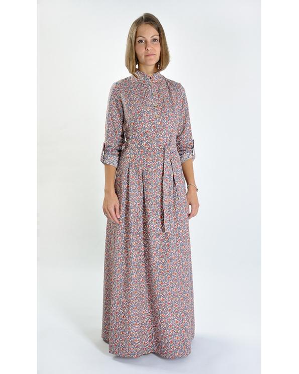 """Платье льняное женское #025 """"Луиза"""""""