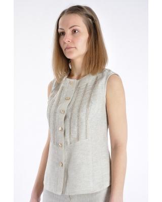 """Блуза 018 """"с тесьмой"""""""
