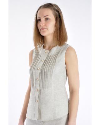 """Блуза 018 """"с защипами"""""""