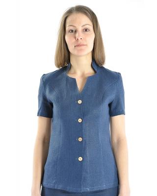 Блузка женская из льна #022