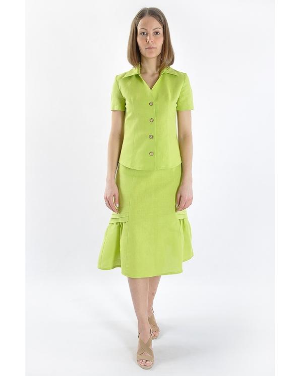 Блузка женская из льна #026