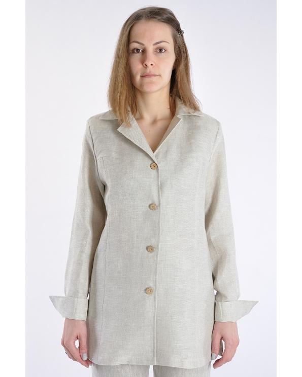 Блузка женская из льна #003