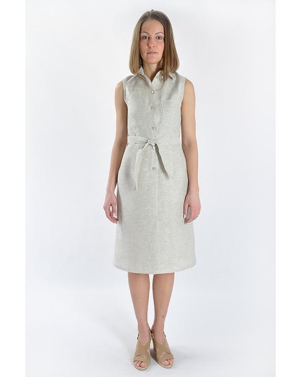 Платье льняное женское #001