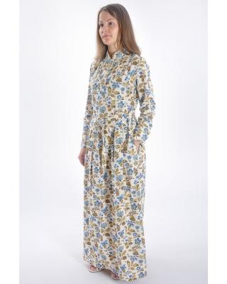 """Платье 025 """"Цветочное настроение"""""""