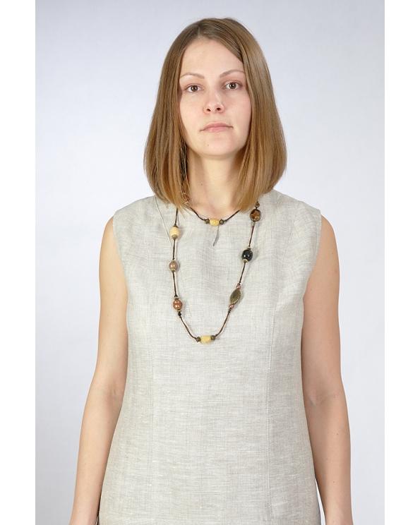 Платье льняное женское #010