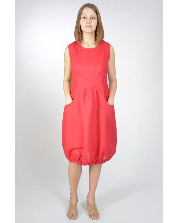 Платье льняное женское #013