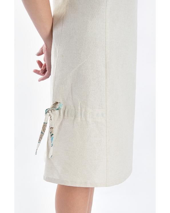 Платье льняное женское #027