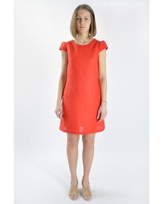 Платье льняное женское #029