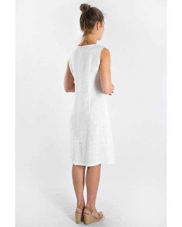 Платье льняное женское #034
