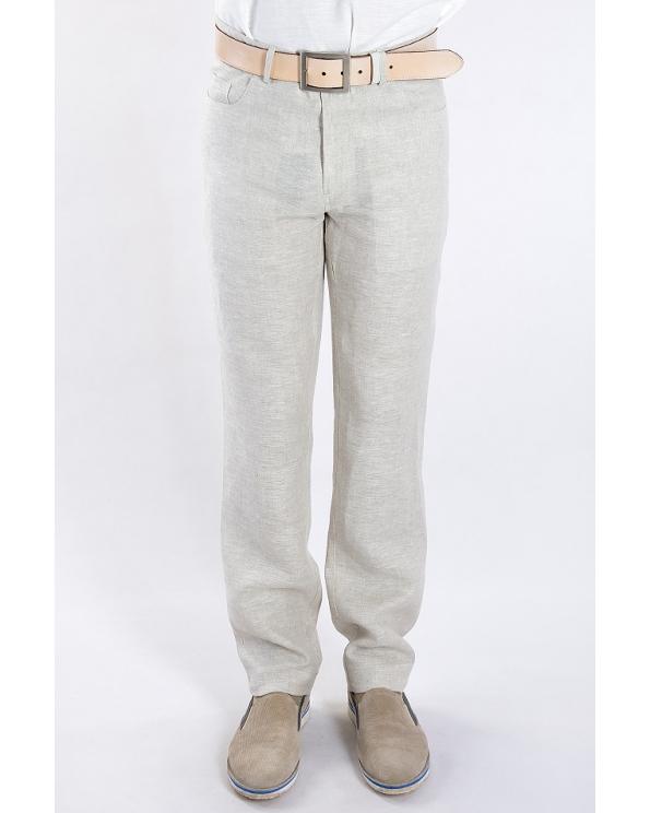 """Брюки льняные мужские """"джинсы"""""""