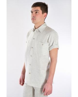 Рубашка мужская #17-09