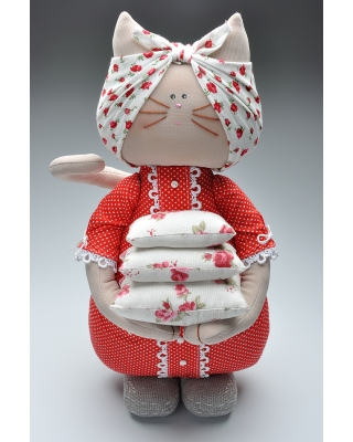 """Кукла """"Кошка с подушками"""""""