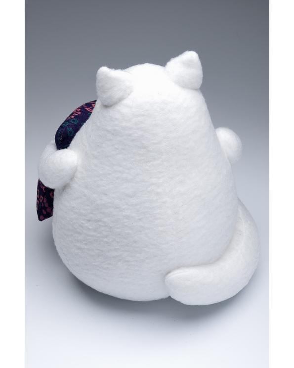 """Кукла """"Толстый кот белый"""""""