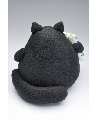 """Кукла """"Толстый кот черный"""""""